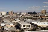 The view of Las Vegas from our room