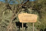 Superstitions Wilderness Sign