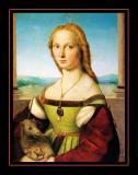 Dame à la licorne (1505) par RAFAËL