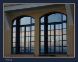 Casino windows reflections