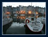 Le vieux port, in the evening