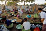 Early morning market scene, Lombok