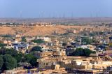 Jaisalmer wid-farm in the horizon