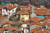 Shanty town closeup