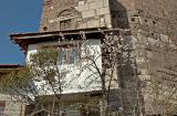 House on citadel walls