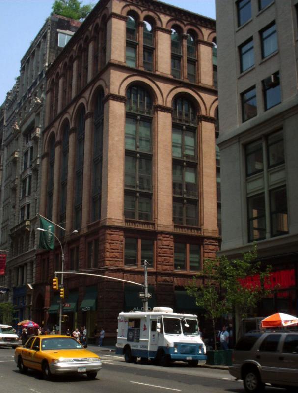 Audobon Society Building on Broadway