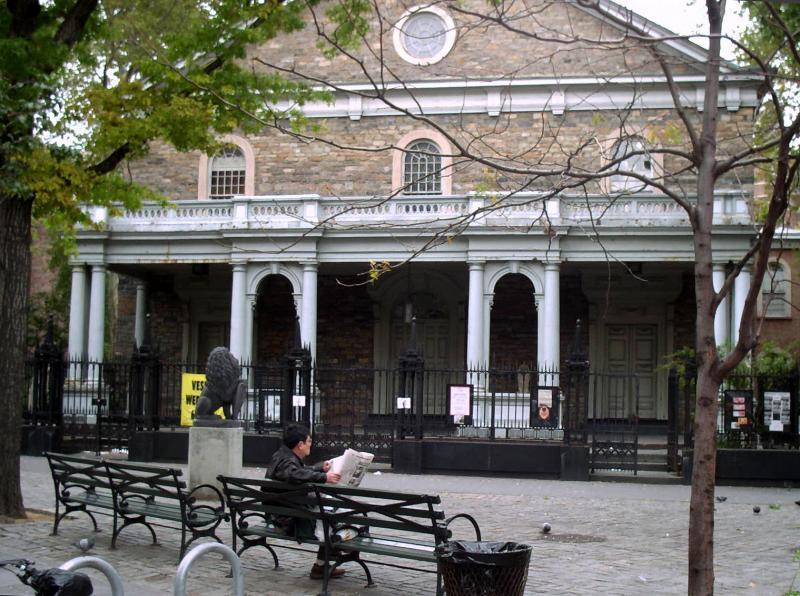 St Marks Portical