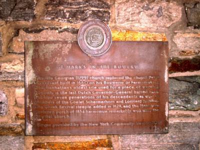 St Marks Historical Marker