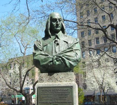 Peter Stuyvesant Bust