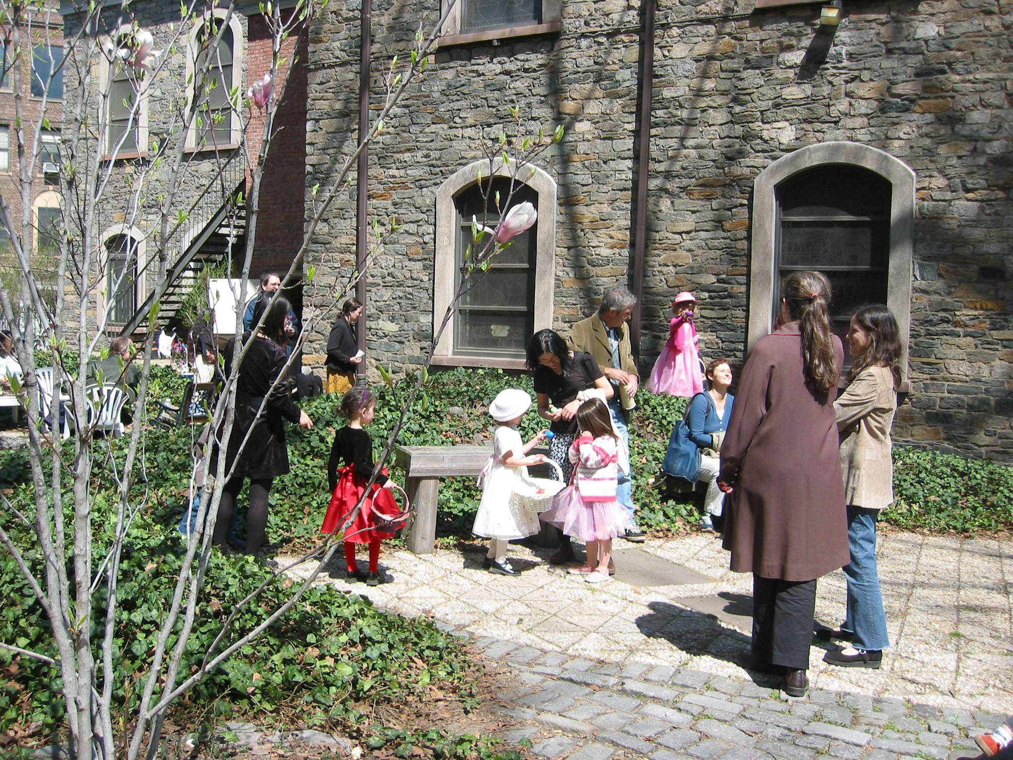 Easter Morning - St Marks Rectory & Churchyard