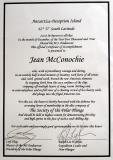 But, they did give her this auspicious document to display in her otherwise tasteful home!