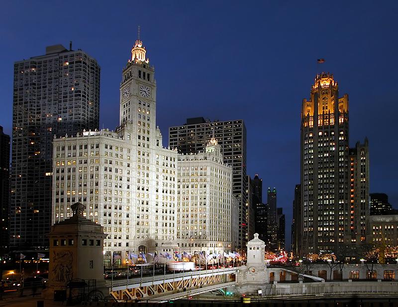 Wrigley & Chicago Tribune Buildings