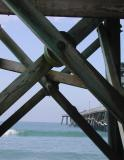 X is for X-shaped pier support