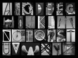 B&W Alphabet