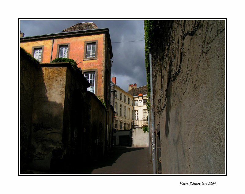 Old town in Clermont-Ferrand