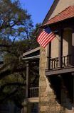 House & Flag