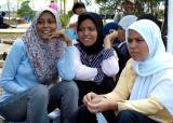 people of Banda Aceh, Sumatra, express hope