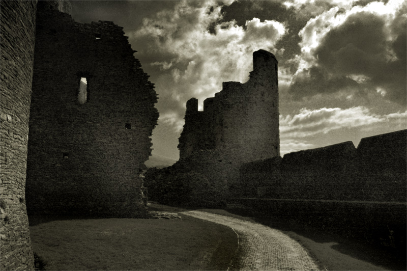 Caerphilly Castle (first edit)