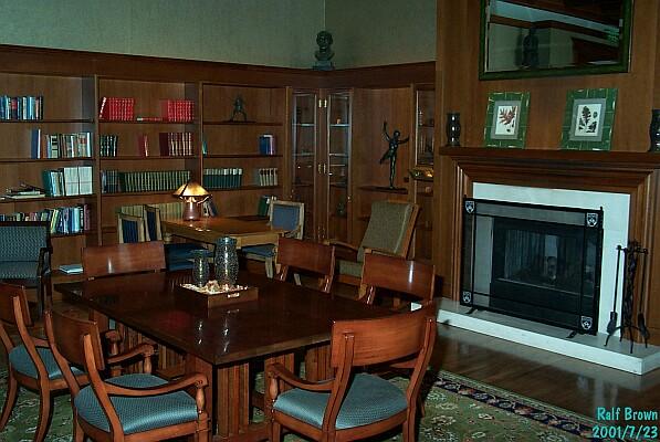 The Inn at Penn - Library