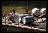 Barrels on Barge