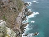 Cape Point - very windy