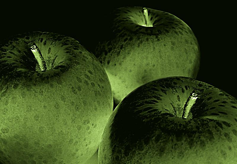 <b>Granny Apple Circles</b><br><font size=3>by Mark J.