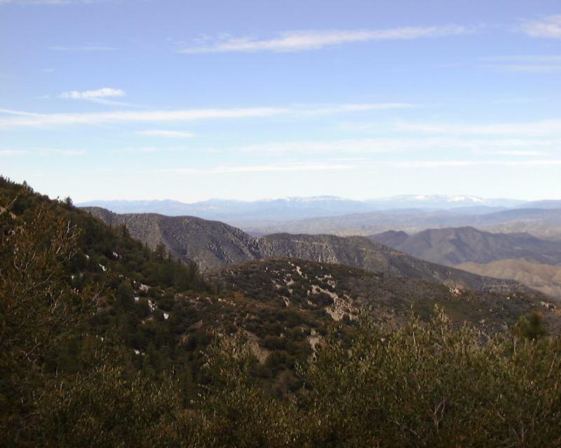 View Northwest from Mount Gleason