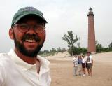 Self-Portrait - Tom & friends at the lighthouse