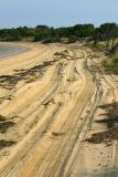 One of the off-road paths along the beach on Chappaquiddick.