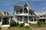 One of the many ginger bread houses in Oak Bluffs, Martha's Vineyard, Mass.
