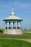 Gazebo on Ocean Park in Oak Bluffs near the harbor.
