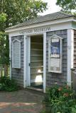 Entrance to the Vineyard Museum, Edgartown, Martha's Vineyard.