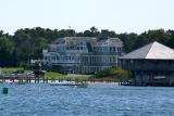 The home of Ernie Boch, New England car dealer, on the harbor in Edgartown.