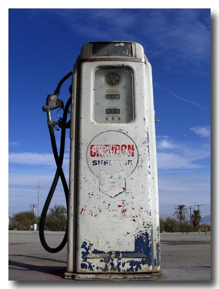 Very Old Gas Pump