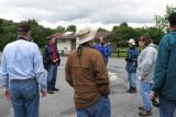 Mike guiding us at Stevens Creek Park