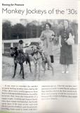 Monkey Greyhound Racing of the 1930s