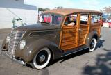 Cruisin 1937 Ford Woodie  - 2002 Labor Day Cruise, OC Fairgrounds Costa Mesa, CA