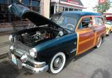 1951 Ford Woodie (Country Squire) - Belmont Shore Car Show 2002