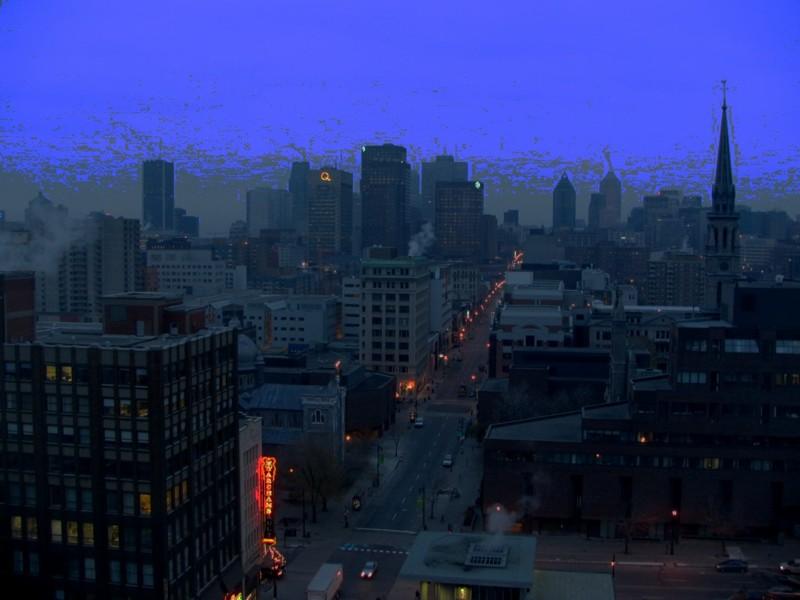 Montréal le matin