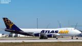Atlas Air Cargo aviation aircraft Stock Photos Gallery