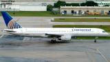 Continental Airlines B757-224 N26123 aviation stock photo
