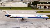 Spirit MD83 N822NK aviation stock photo