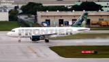 Frontier Airlines A319-111 N902FR aviation stock photo