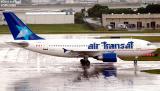 Air Transat A-310 C-FDAT aviation stock photo