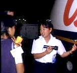 Jaime (Explorer Graduate class of 1991), Captain at Island Air - HNLWP and now AQ 700 F/0!