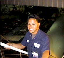 Karlton (Class of 1991) from Advanced Explorer to AQ flight line Mechanic & Advisor!