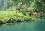 Near Vang Vien