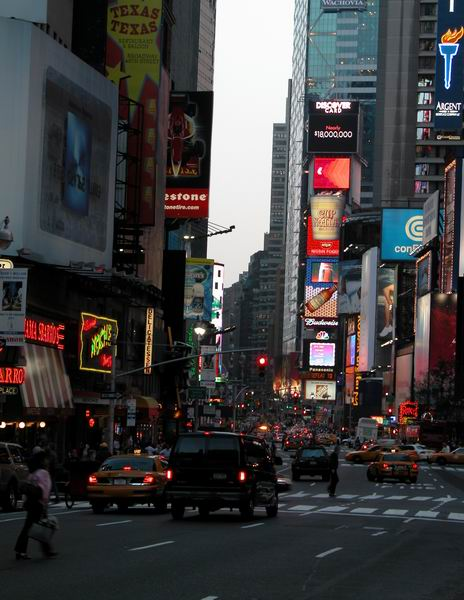 Times Square 65.