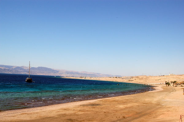 The Japanese Garden lies just offshore in the Aqaba Marine Park
