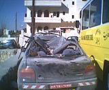 Damage from Israeli Bombing of Ramallah